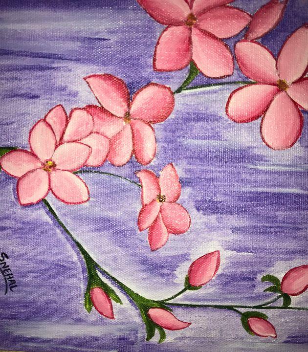 Floral art - Snehal Shirude