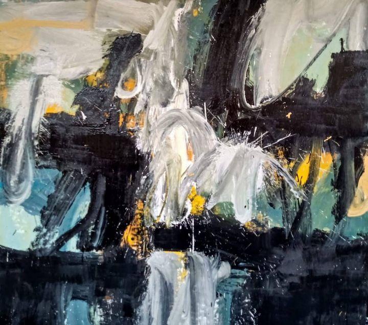 Cuatros Eternos (Eternal Paintings) - color strokes by Jose Cortez