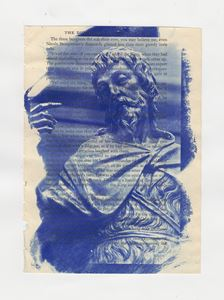 Cyanotype on Book Paper 3