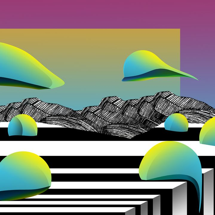Lanscape N 98 - Pablo Martinez