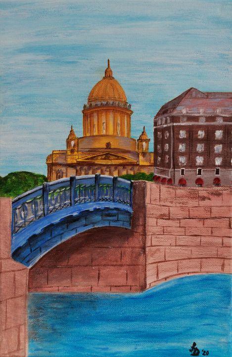 Синий мост - Frau Damm