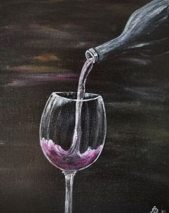 Может вина?