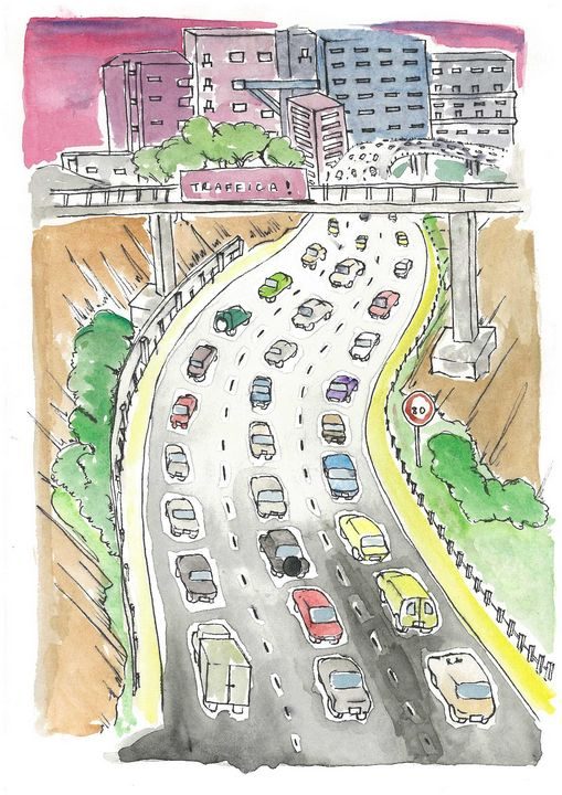 Traffica! - Rushnah Atiq