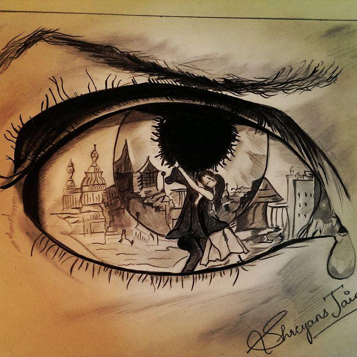 Eyes say it all! - Shreyans jain