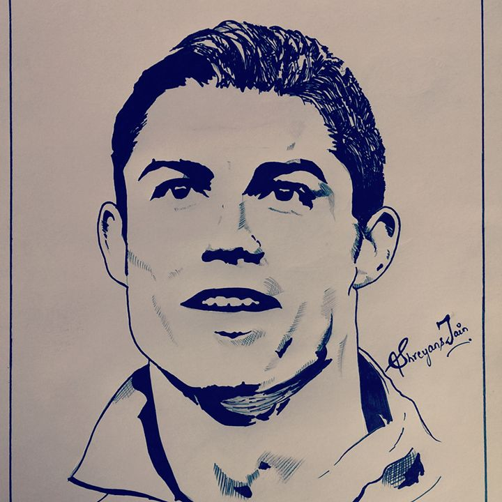 Christiano Ronaldo - Shreyans jain