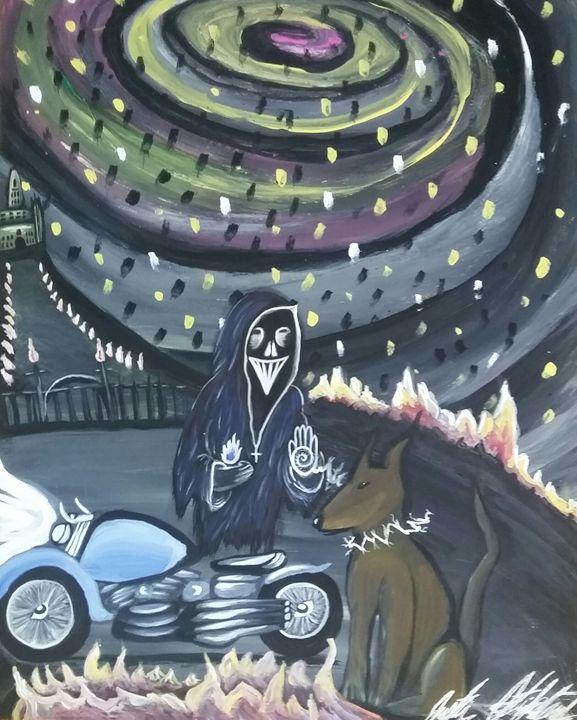 immortal - Artwork by Justin Strickland