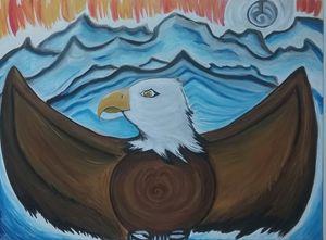 Vancouver bald eagle