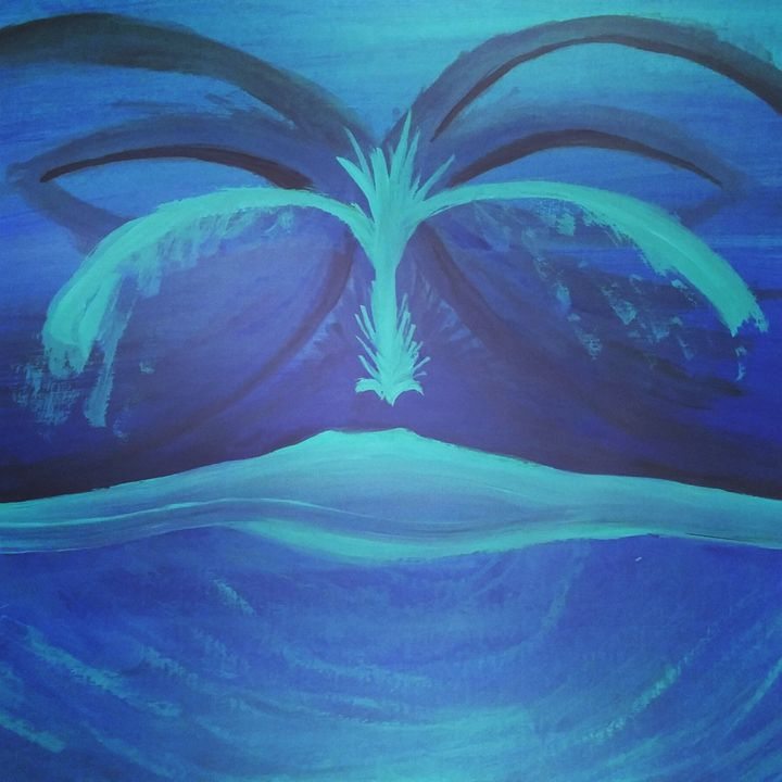 plasma planet - Artwork by Justin Strickland