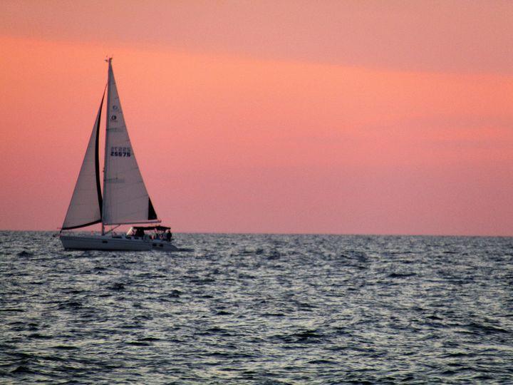 Lake Michigan Sunset - Amy Maliborski