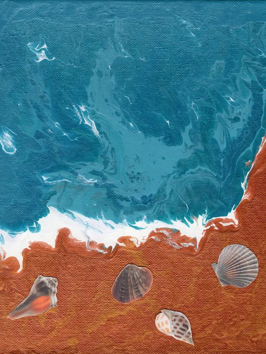 Seashells on the Shore - Living Word Designs Studio