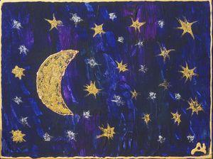 Moon and Stars - Луната и звездите