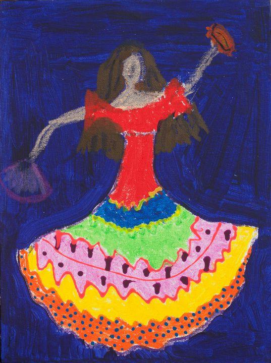 Carmen - Stroke Survivor izpitanie-art- Donka