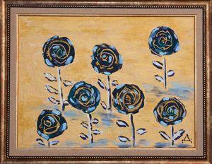 Roses in Blue - Рози в синьо