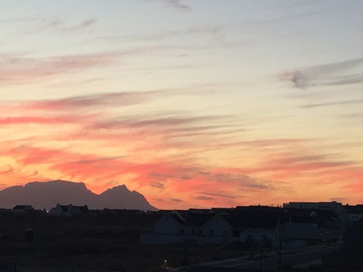 Table Mountain Sunset - Michael Klerck