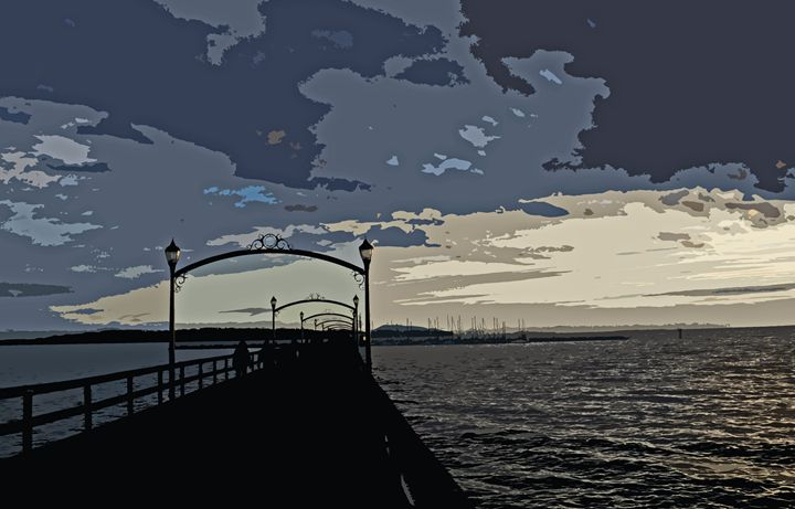 Pier View - Michael Klerck