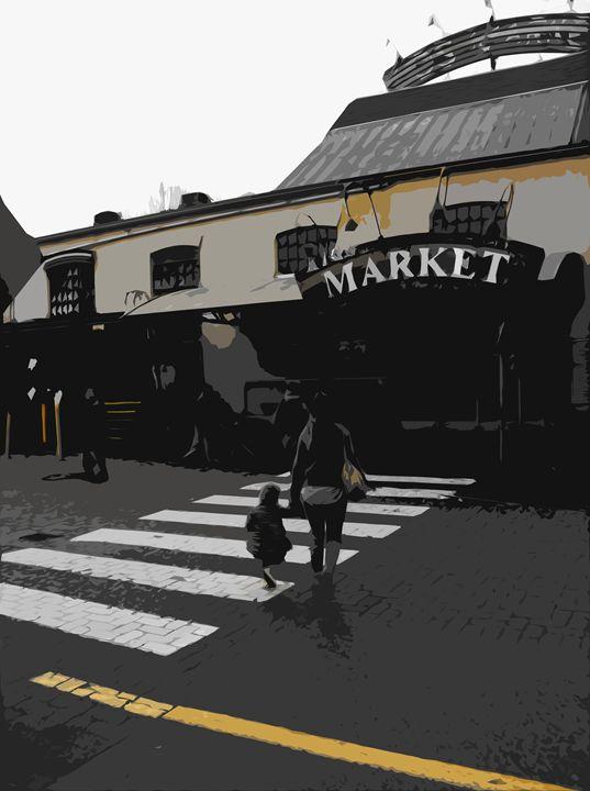 Market Day - Michael Klerck