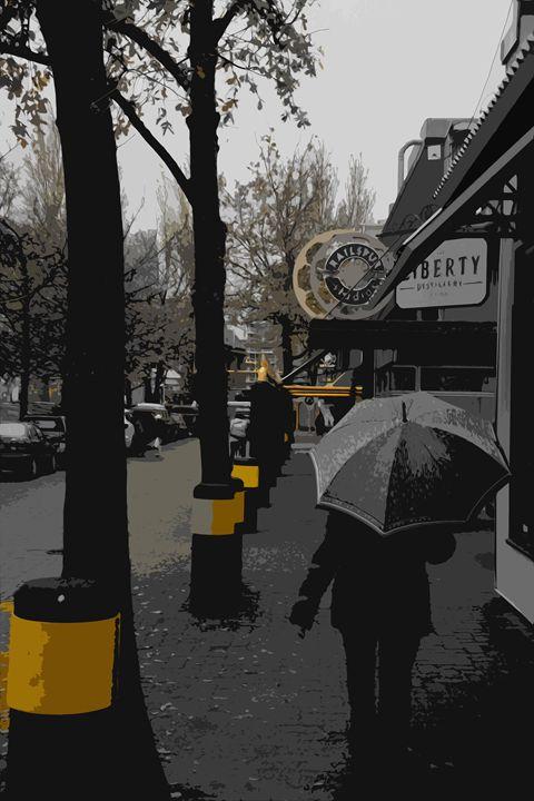 Yellow Walk Way - Michael Klerck