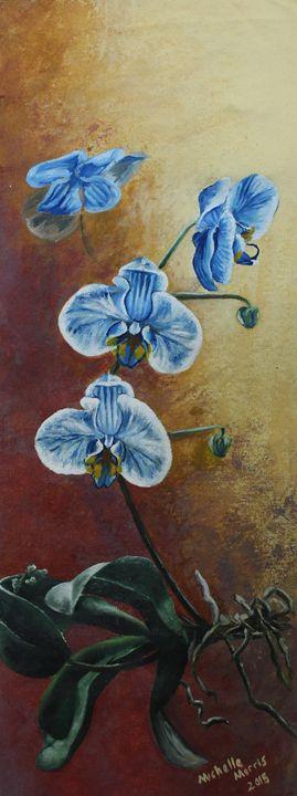 Blue Orchid - M3Arts