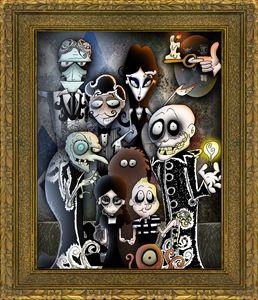Addams Family Portrait