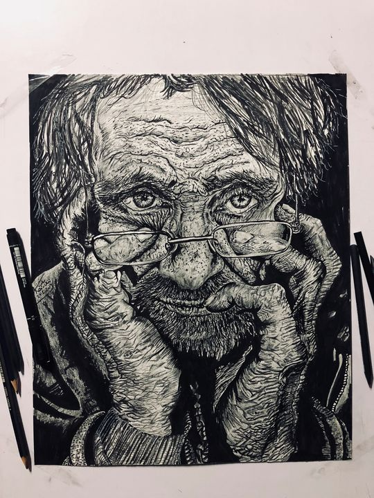homeless - kudosinchi art