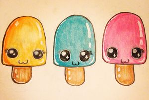 Kawaii Popsicles