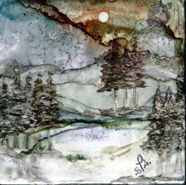 Winter Night - AdagioArt