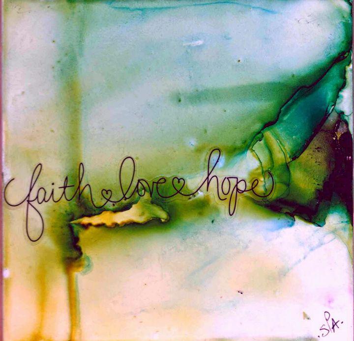 Faith Love Hope - AdagioArt