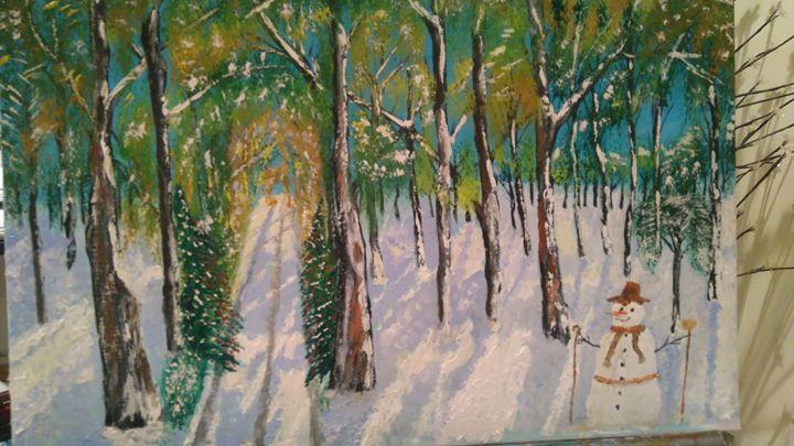 dorset snowman - alexander vaughan
