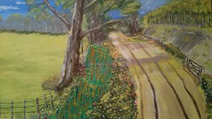 dorsetshire lane in spring