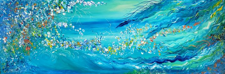 Fantasy sea - Cheryl Kanuck Fine Art