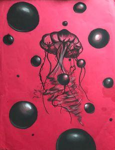 Dark jellyfish
