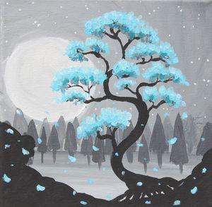 Midnight Garden (Blue)