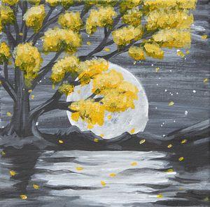 Midnight Garden (Yellow)