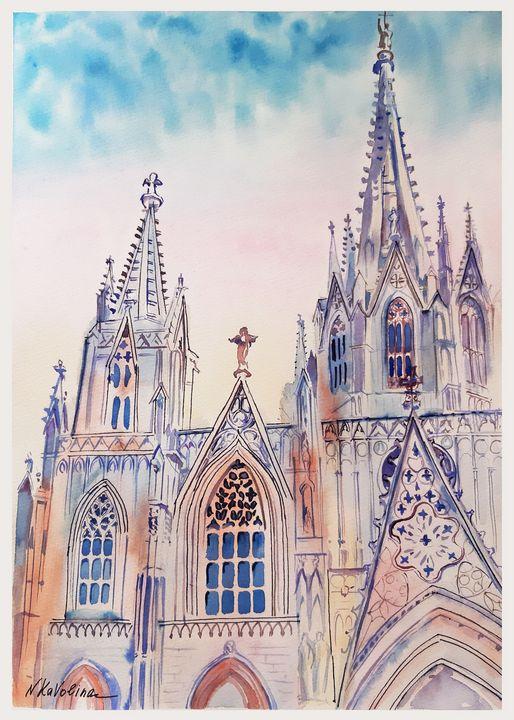 Barcelona Cathedral. A101. - Kavolina