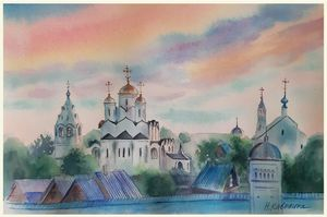 A200. Pokrovsky Cathedral in Suzdal