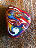 Small painted rock