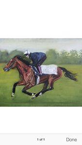 Horse racing Frankel training