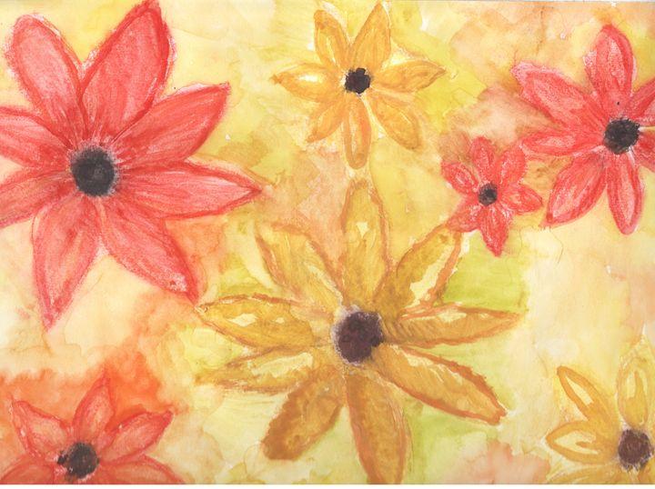Fall Flowers - Angela's Art
