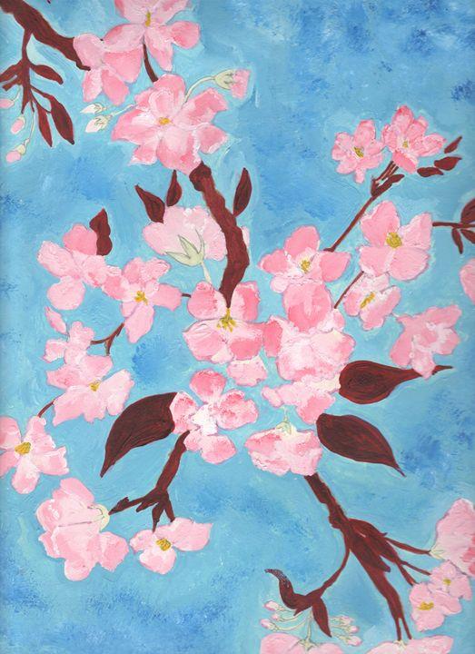 Cherry Blossom - Angela's Art