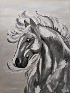 Horse at Dusk - Cher Wilson