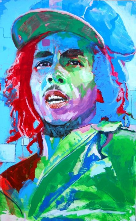 Bob Marley by Michael Scott - Michael Scott Shaddy