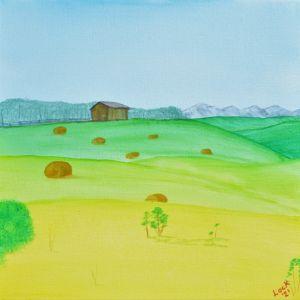 Haybale Fields - Lock Wilford