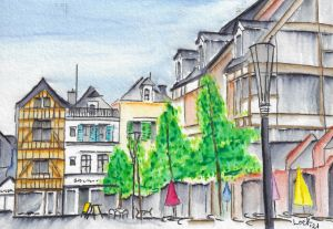 Troyes City Center - Lock Wilford