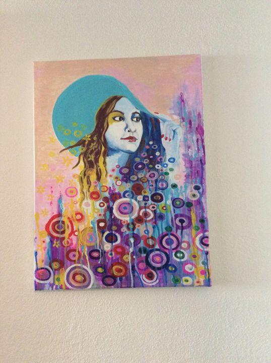 """Portrait """"vacation girl"""" - Oksana Shishlova"""