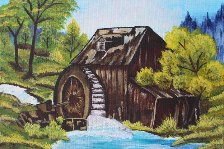 The Old Mill - Ashwini Biradar