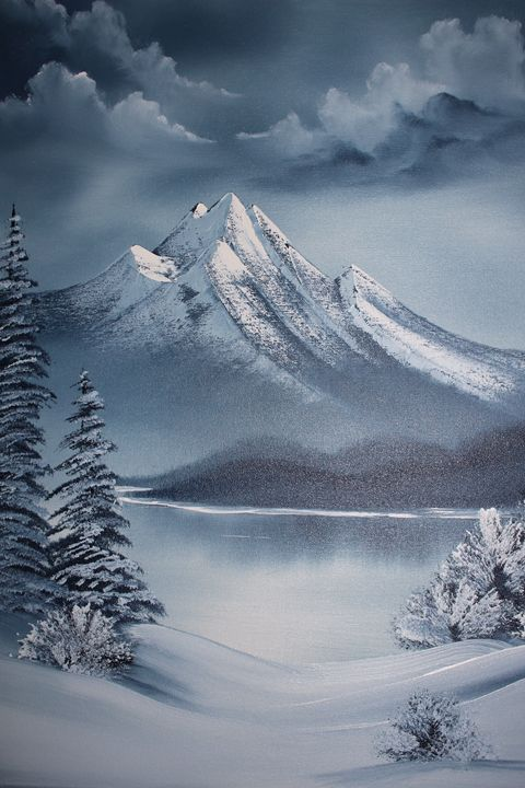 Frozen Lake - Ashwini Biradar