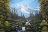 18x24 Oil painting
