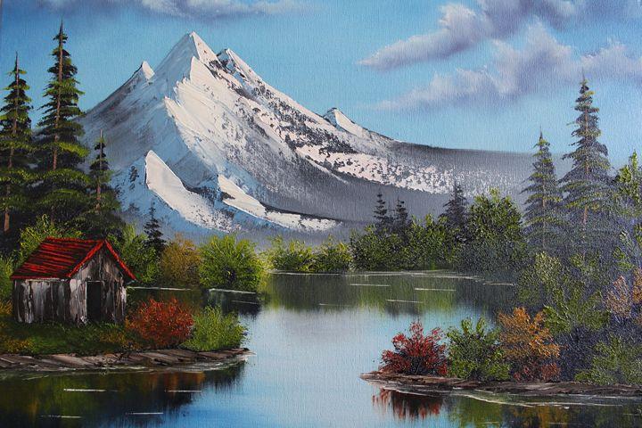 Mountain Reflection - Ashwini Biradar