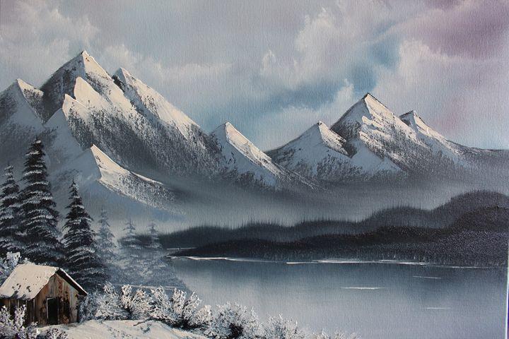 Snowy Mountain - Ashwini Biradar