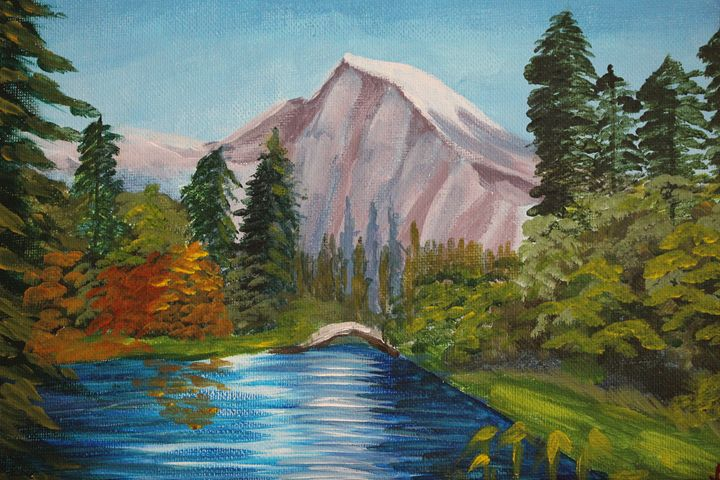 Mountain Lake - Ashwini Biradar